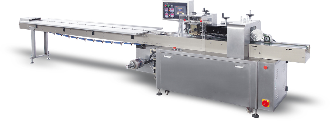 Flow Wrap Machine – Top Sealing