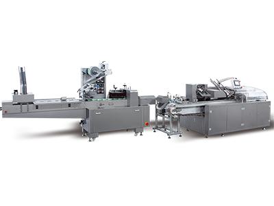 Horizontal Flow Wrapper-Cartoning Machine Packing Line
