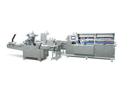 Horizontal Flow Wrapper-High Speed Cartoning Machine Packing Line