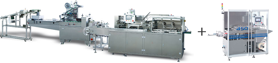Horizontal Flow Wrapper-Cartoning Machine- Overwrapping Machine Packing Line