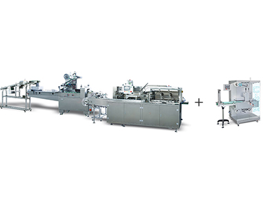 Blister Horizontal Flow Wrapper-Cartoning Machine- Stretch Banding Machine Packing Line