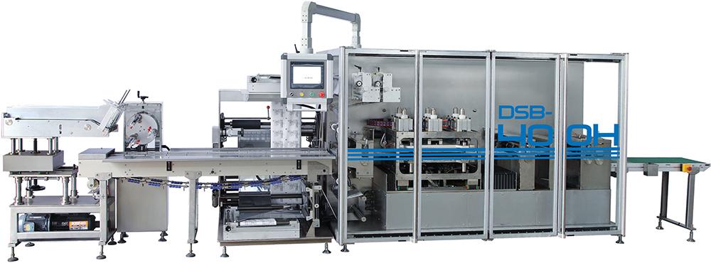 Four Side Sealing Horizontal Packing Machine DSB-400H