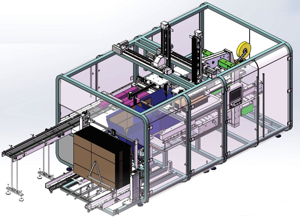 Pick And Place Case Packer